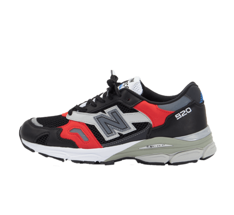 New Balance M920SKR Sport Block Black/Red Made in England
