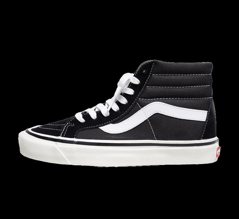 Vans Sk8-Hi 38 DX Anaheim Factory Black/True White