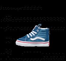 Vans SK8-Hi Zip Denim 2-Tone Blue/True White