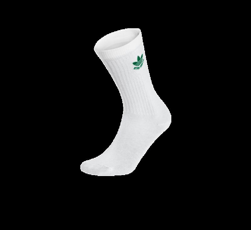 Adidas Stan Smith Trefoil Socks White