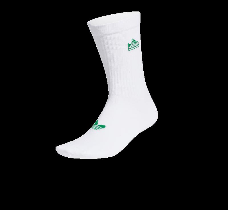 Adidas Stan Sock White/Green