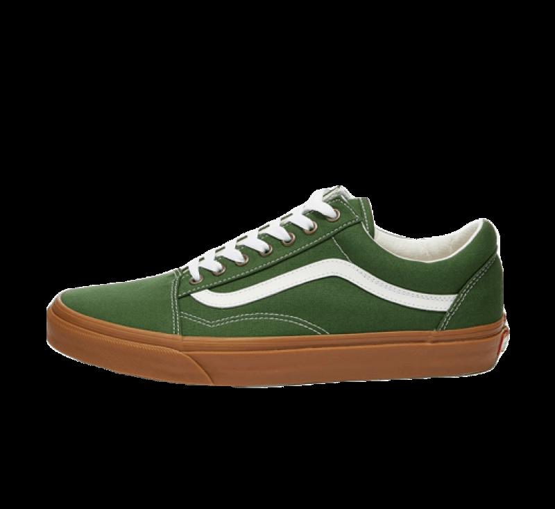 Vans Old Skool Gum/Greener Pastures/True White