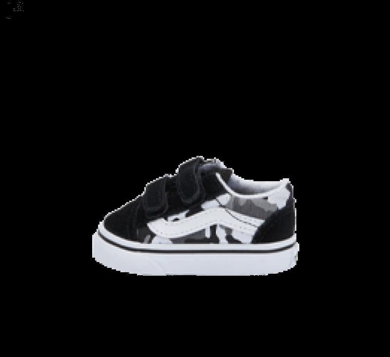 Vans Old Skool V Primary Camo Black/True White