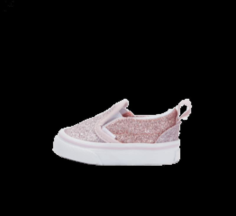 Vans Slip-On V 2-tone Glitter Orchid Ice/Powder Pink