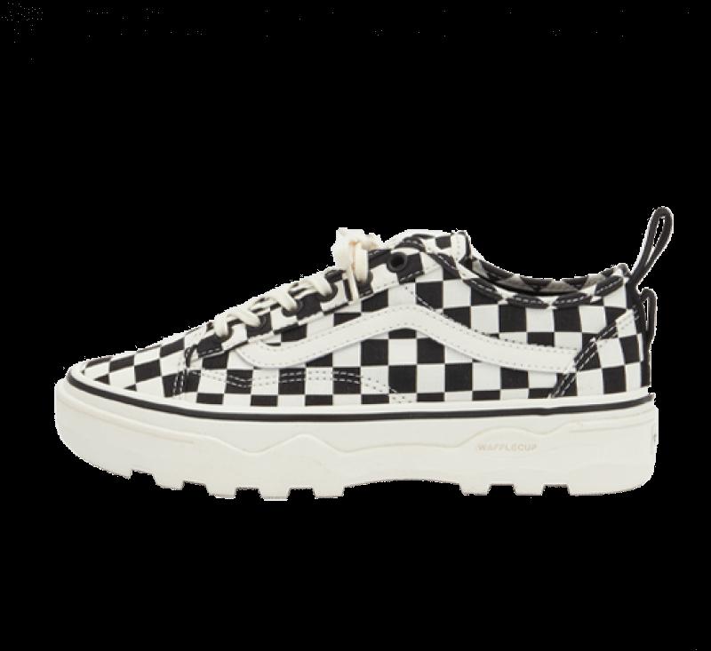 Vans Women's Sentry Old Skool Checkerboard/Marshmallow