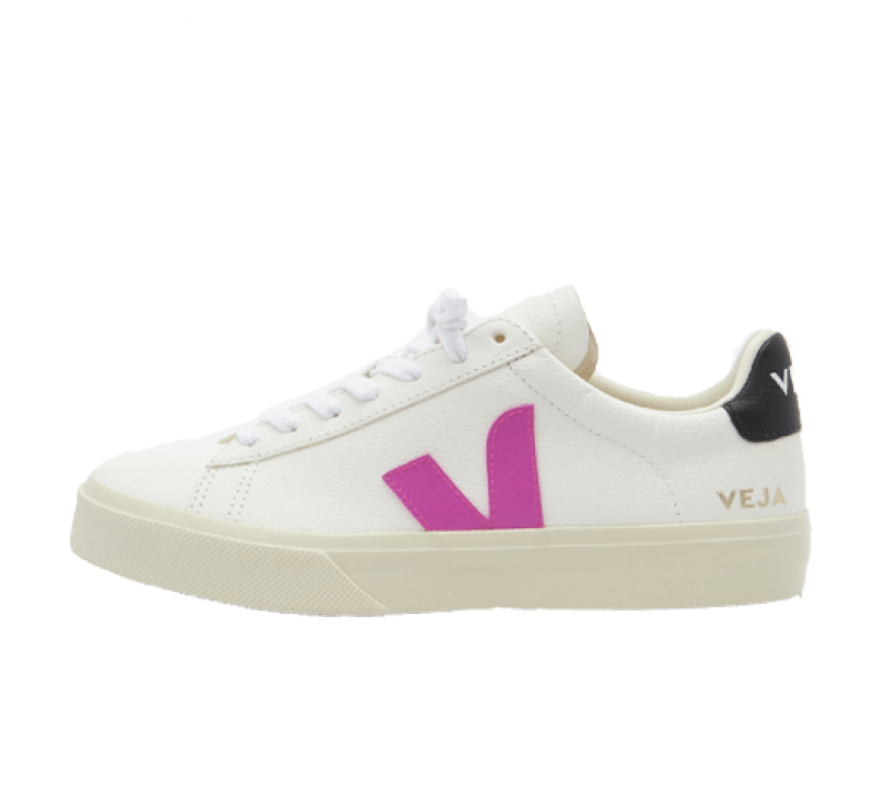 Veja Women's Campo Chromefree Extra White / Ultra Violet / Black