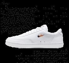 Nike Court Vintage Premium White/Black-Orange