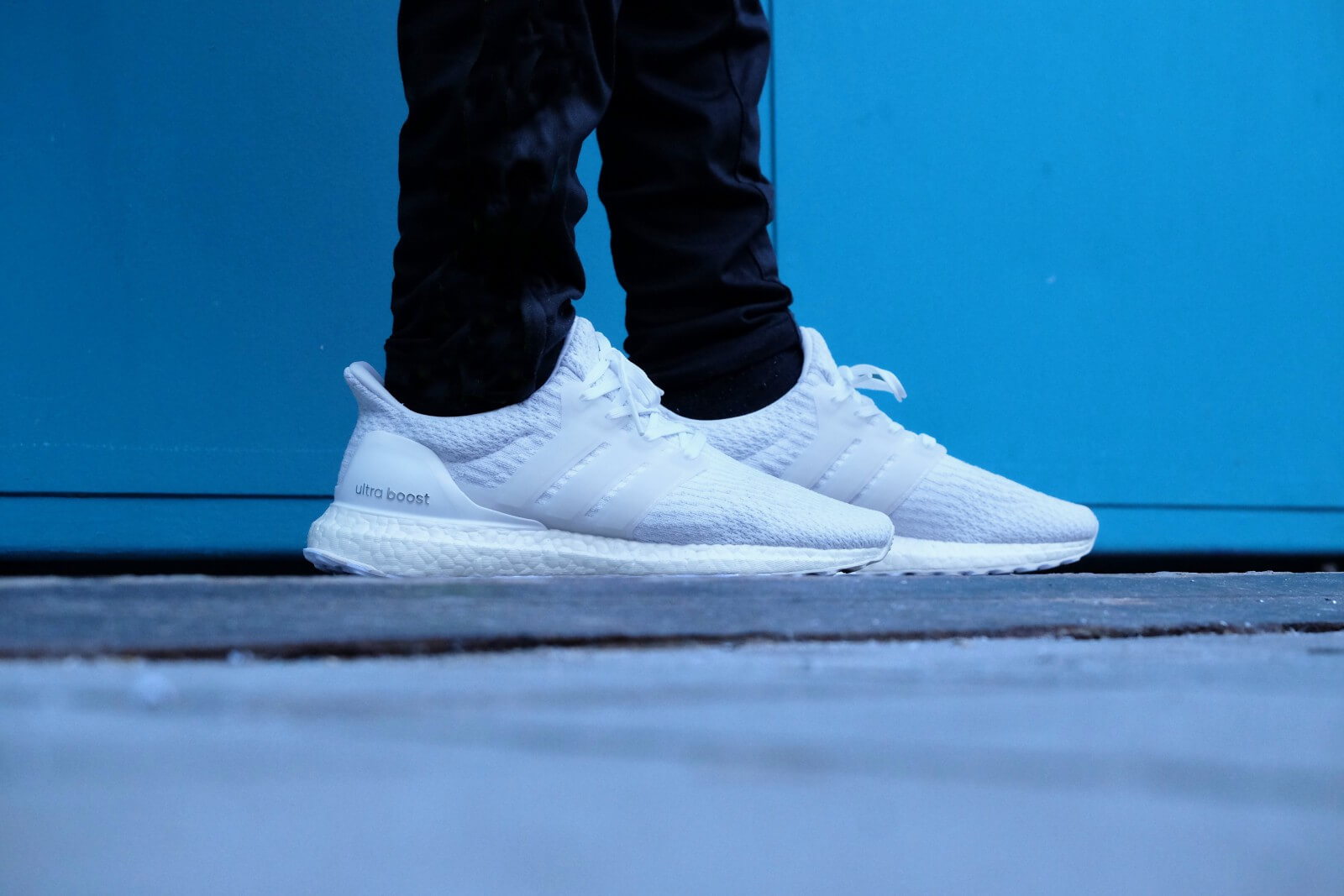 FIRST LOOK: adidas Ultra Boost Triple White 3.0 Ballislife