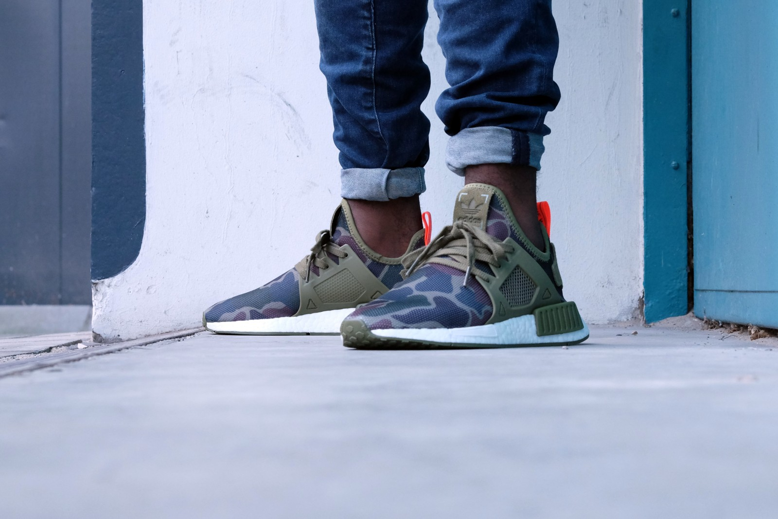 NMD XR 1 Olive Green Shopee Singapore
