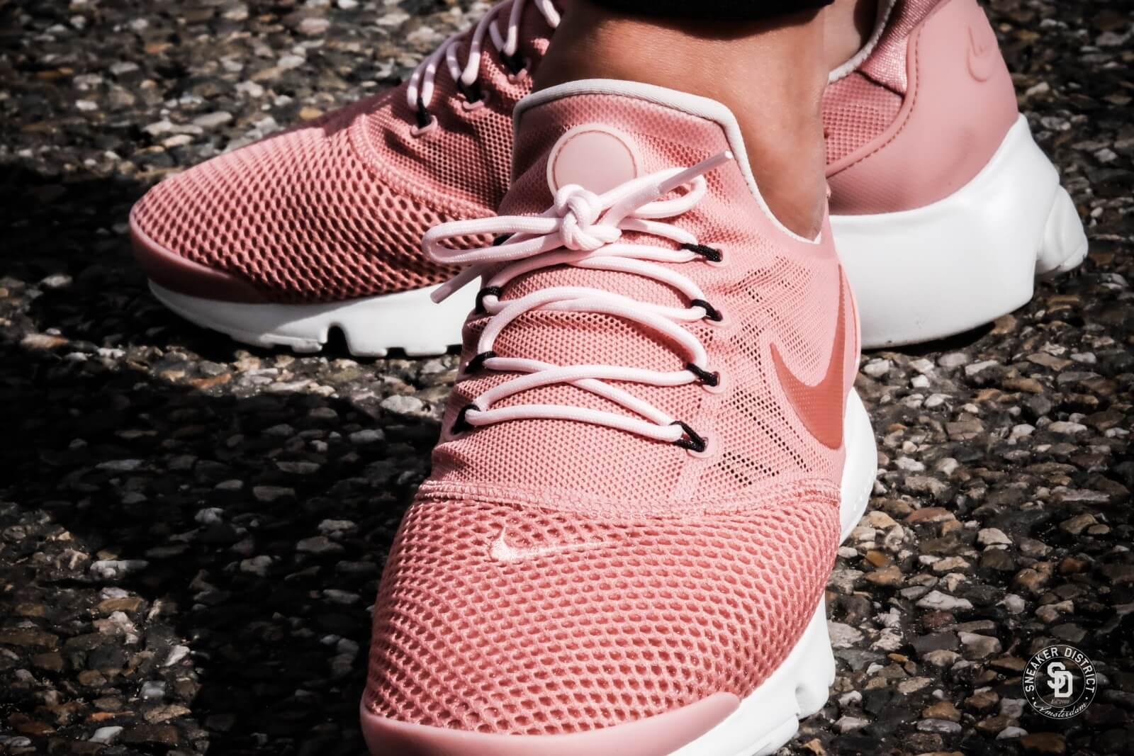 8a38192185ed ... nike womens presto fly red stardust dusty peach summit white