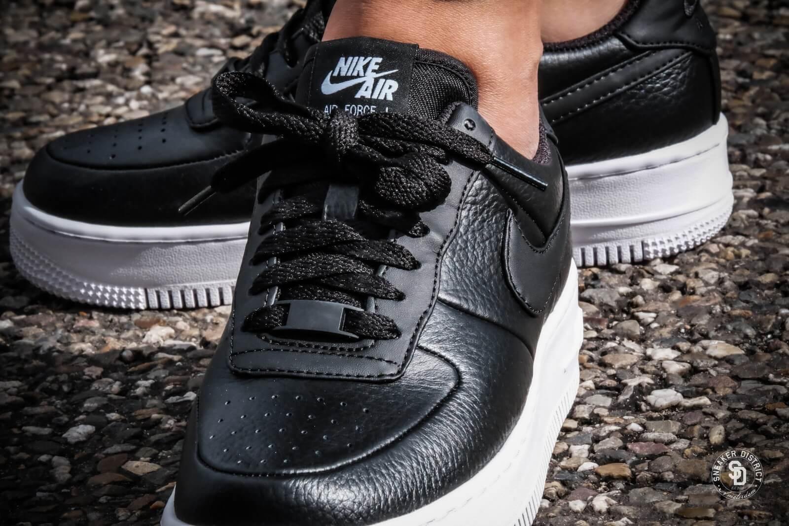 Nike Womens Air Force 1 Upstep Black/White - 917588-001