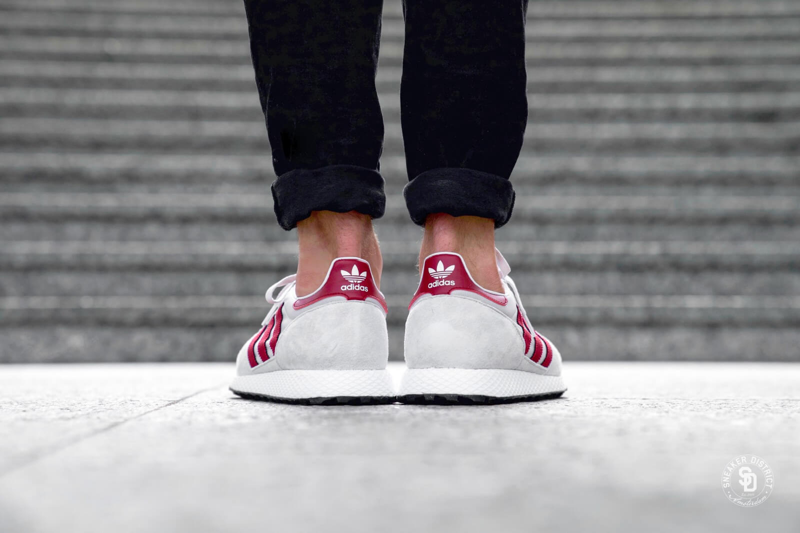 Adidas Forest Grove Chalk Pearl/White/Black - B41547