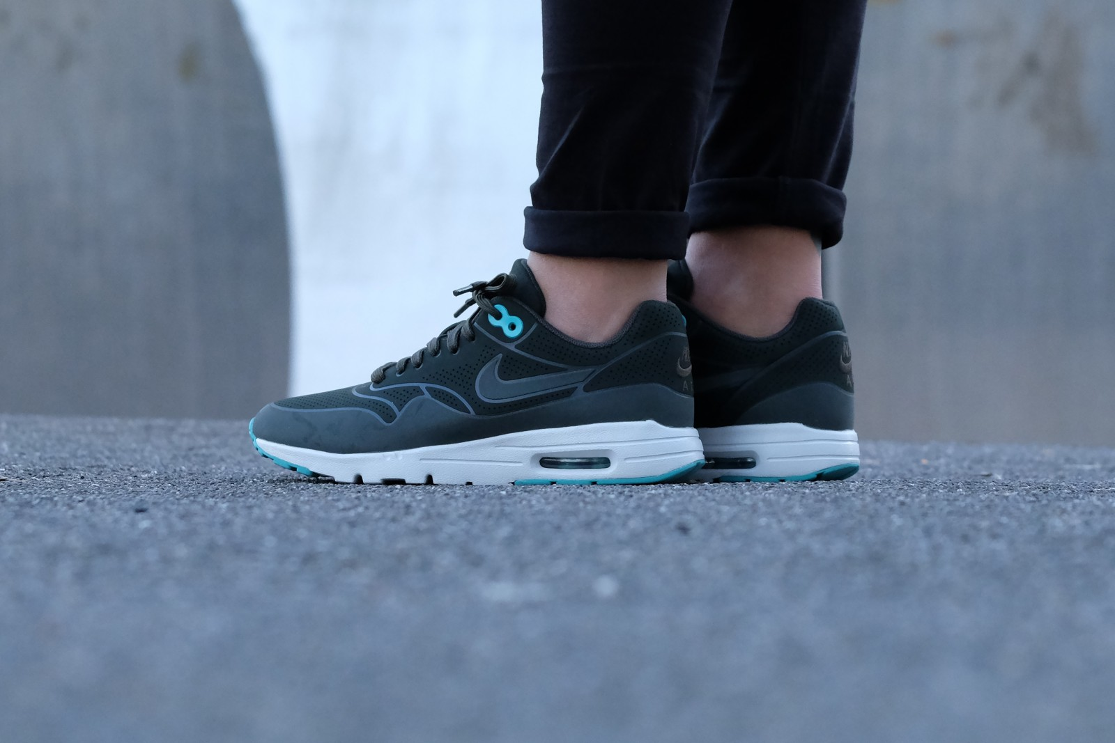 Nike Air Max 1 Ultra Moire Sequoia Washed Teal 704995 304