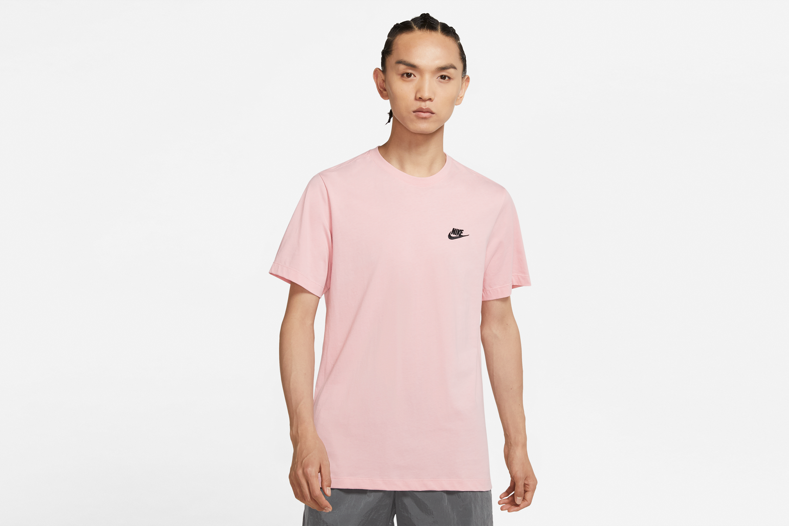Nike NSW Club Tee Pink Glaze/Black