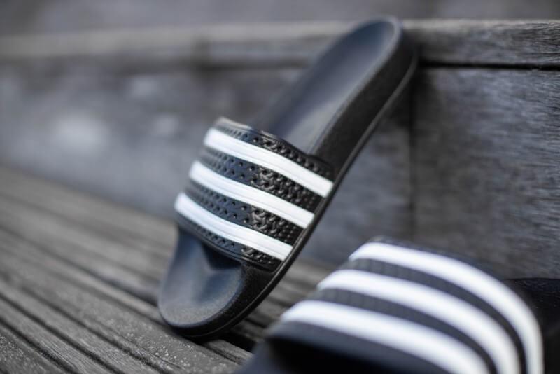 Adidas Adilette Core Black/White