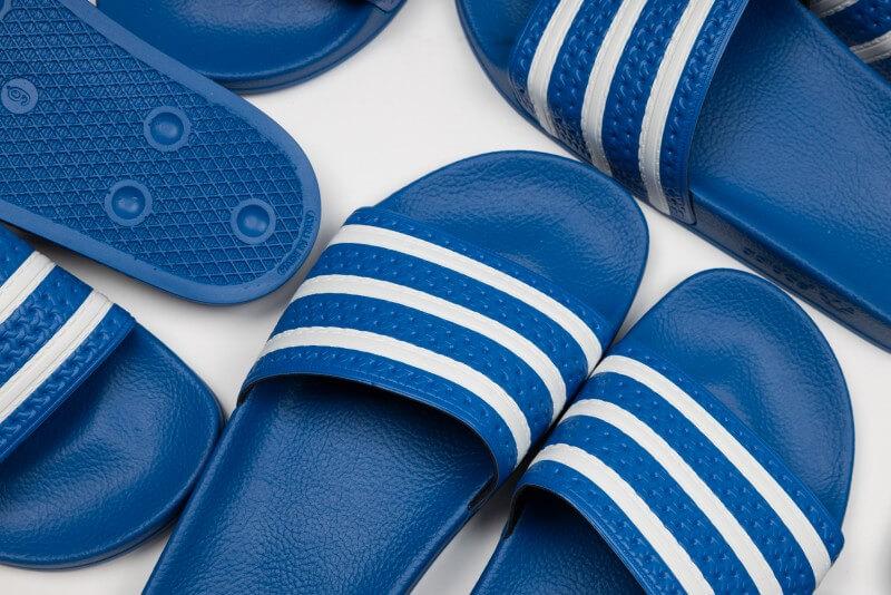 Adidas Adilette Glow Blue/Cloud White