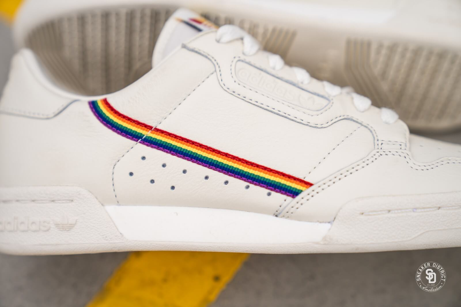 Adidas Continental 80 Pride Off White - EF2318