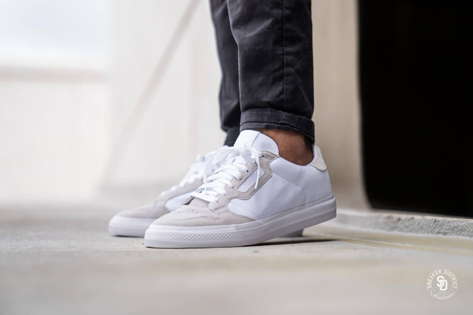 Adidas Continental Vulc Footwear White - EF3523