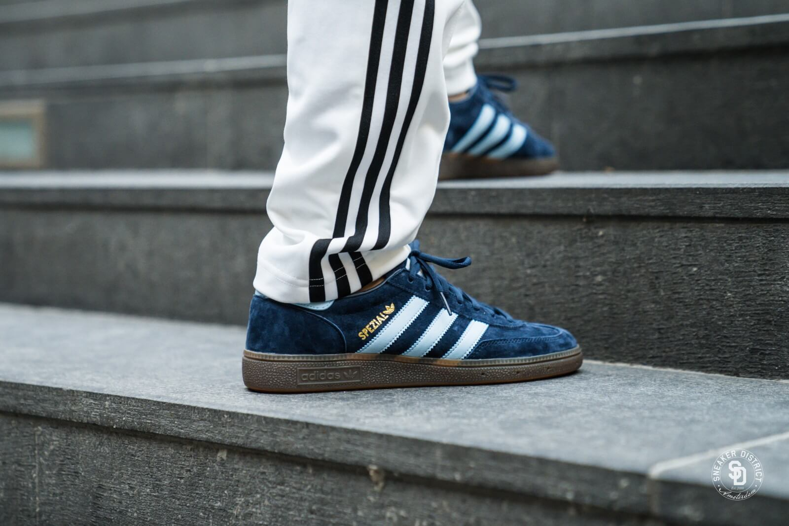 in stock shop best sellers cheaper Adidas Handball Spezial Collegiate Navy/Clear Sky/Gum - BD7633