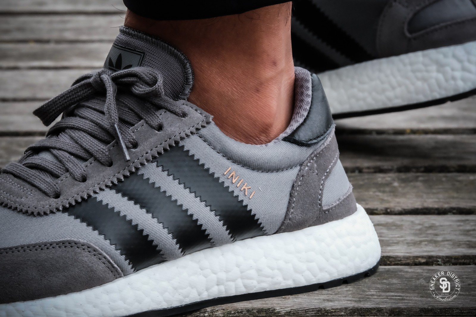 wholesale dealer 5a751 414bb ... Watch adidas iniki runner grey four core black footwear white ...