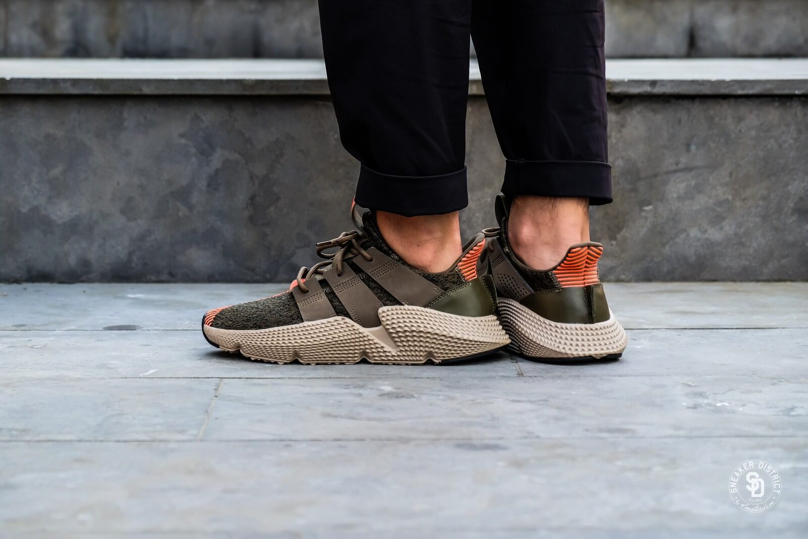 Adidas Prophere Trace Olive/Solar Red - CQ2127