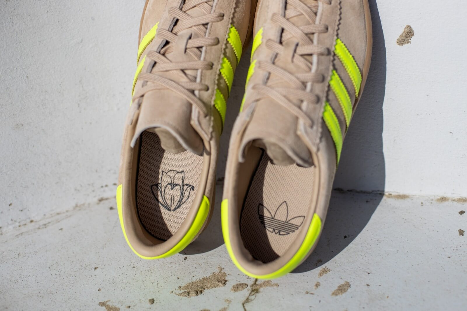 Adidas Stadt St Pale Nude/Solar Yellow - EF5724