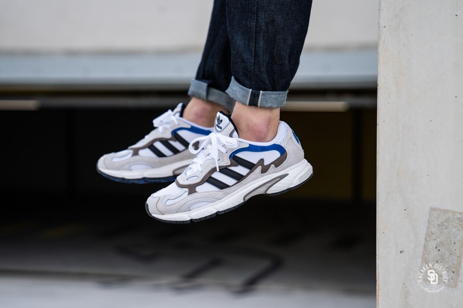 Flexible vendedor Permanecer  Adidas Temper Run Footwear White/Core Black - EE7737