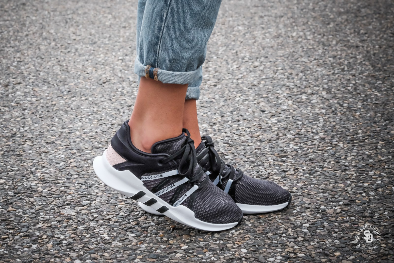 official photos dbbea eff23 adidas eqt racing core black