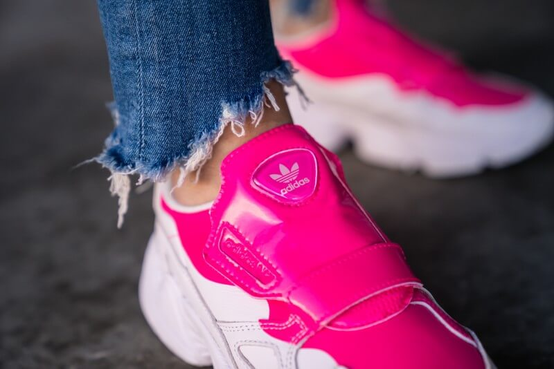 Adidas Women's Falcon RX Out Loud Shock Pink/Orchid Tint