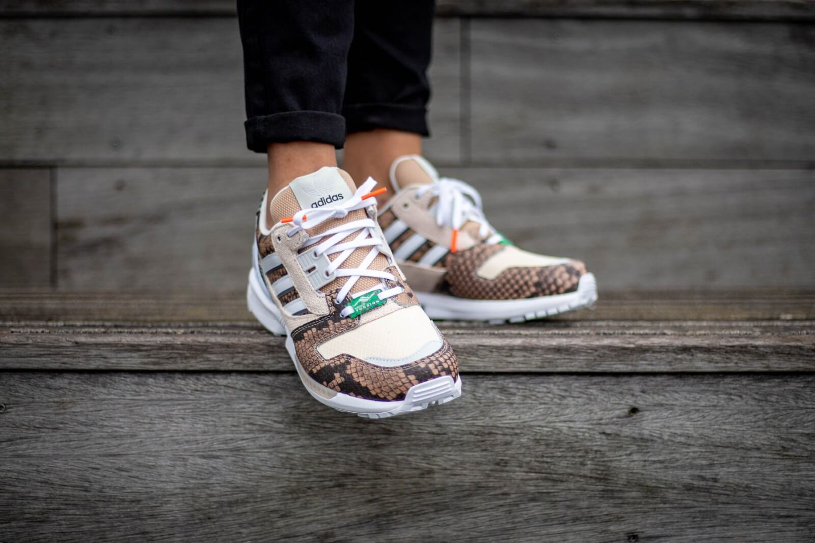 Adidas ZX 8000 Lethal Nights Pack St Pale Nude/Chalk White