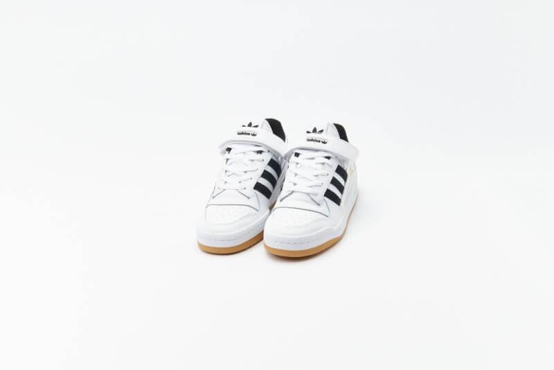 Adidas Forum Low Cloud White / Core Black / Gum