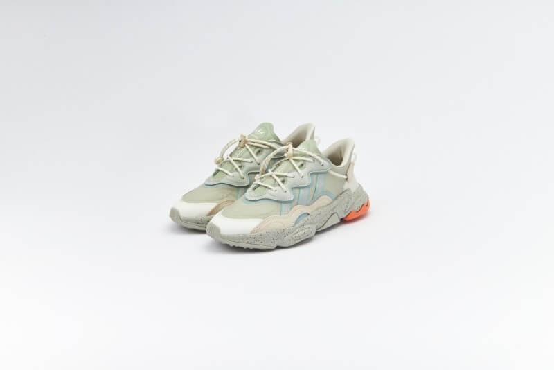Adidas Ozweego Halo Green/Aluminum/Hazy Green