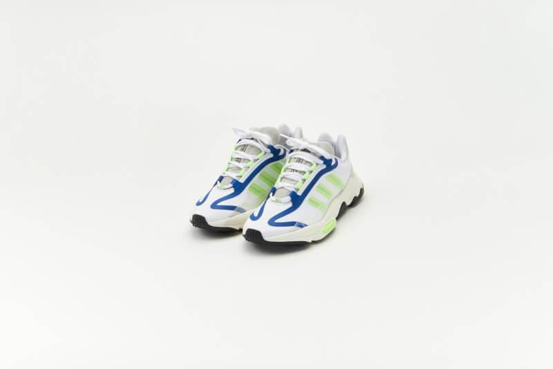 Adidas Ozweego Pure Footwear White/Signal Green-Off White