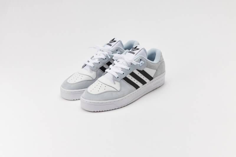 Adidas Rivalry Low Footwear White/Halo Blue-Core Black