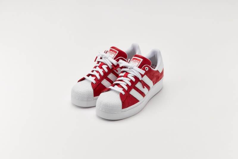 Adidas Women's Superstar Bold Scarlet/Core Black-Footwear White