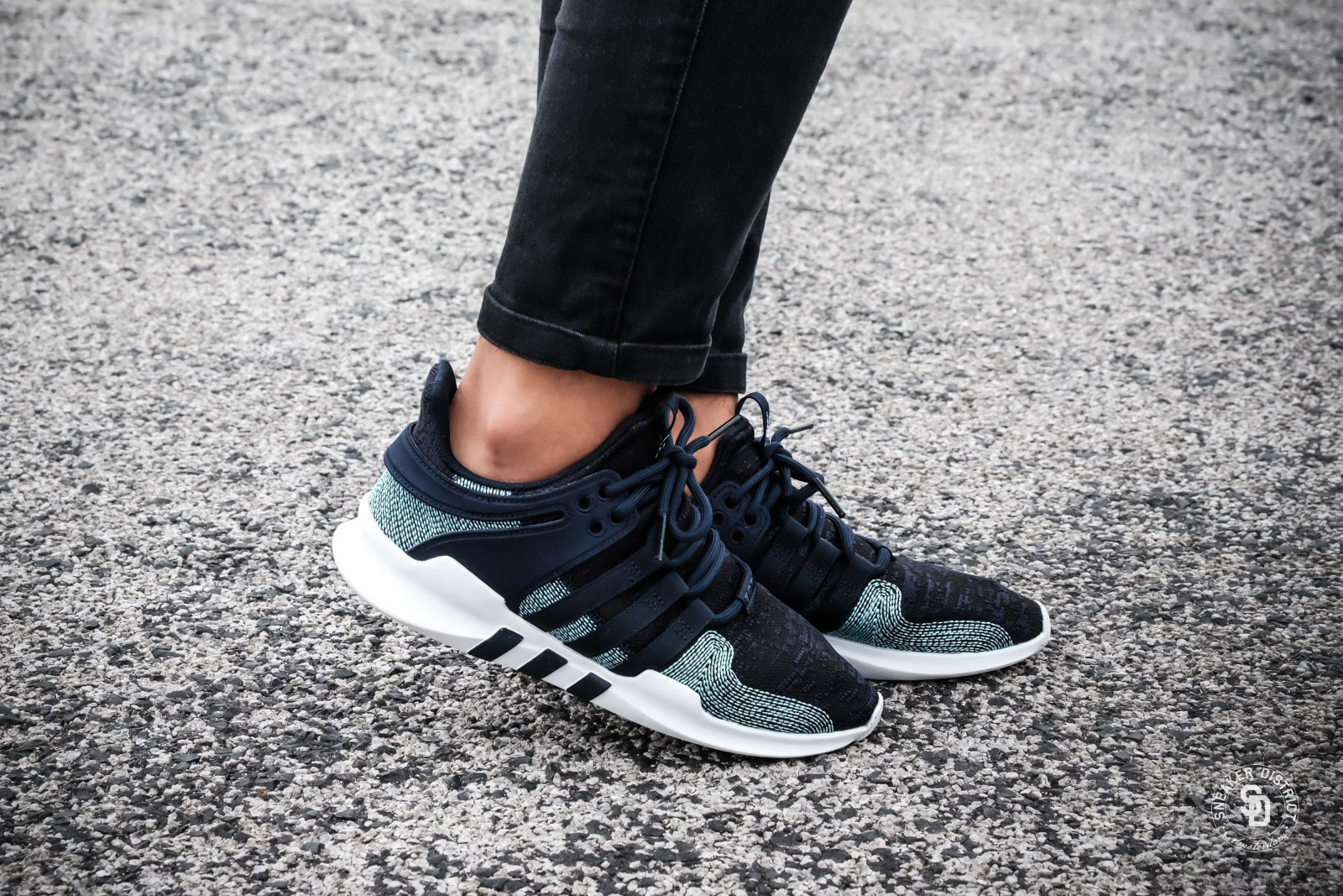 Adidas X Parley Eqt Support Adv Blue White Cq0299