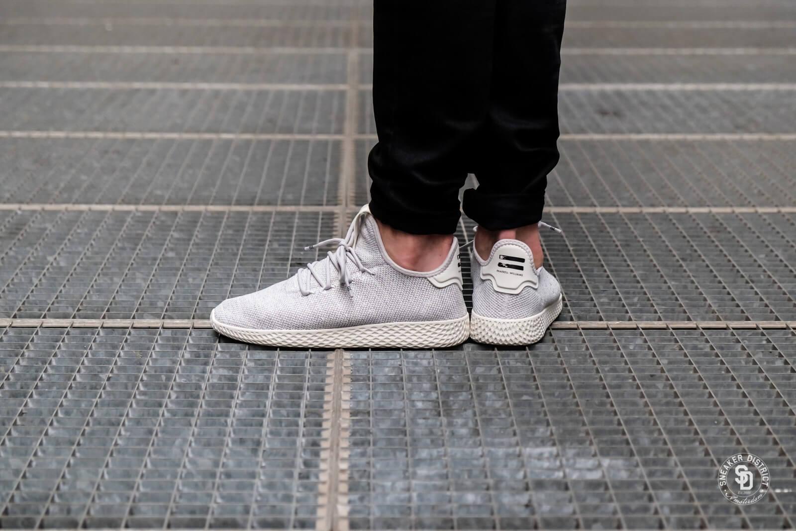 Adidas x Pharrell Williams Tennis HU Grey OneChalk White AC8698