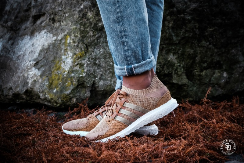 Adidas x Pusha T EQT Support Ultra Primeknit  Brown Paper Bag  - DB0181 1eef4ab76