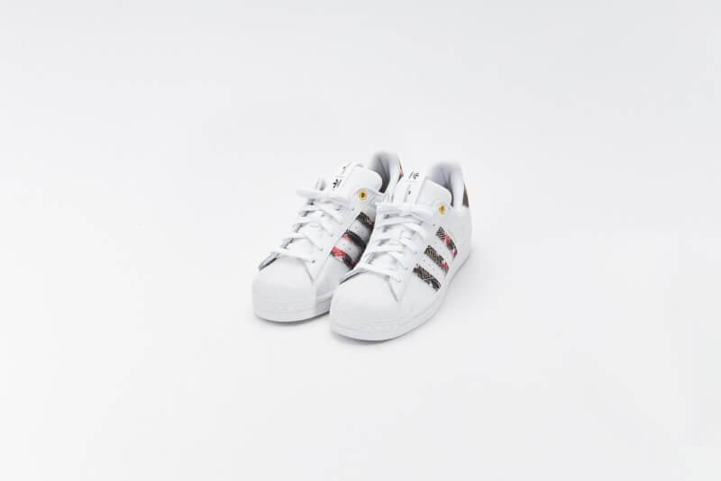 Adidas x HER Studio London Women's Superstar Cloud White/Supplier Colour/Matte Gold