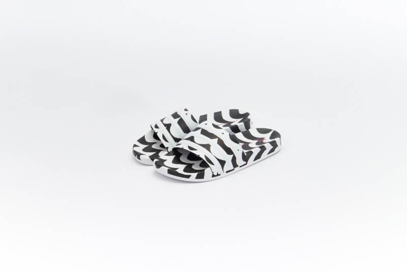Adidas x Marimekko Adilette Core Black/Cloud White-Team Real Magenta