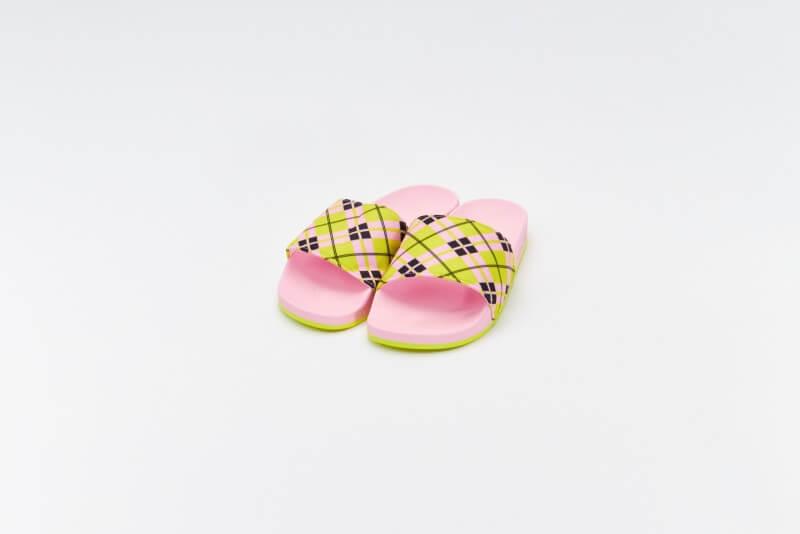 Adidas x Marimekko Adilette True Pink/Acid Yellow