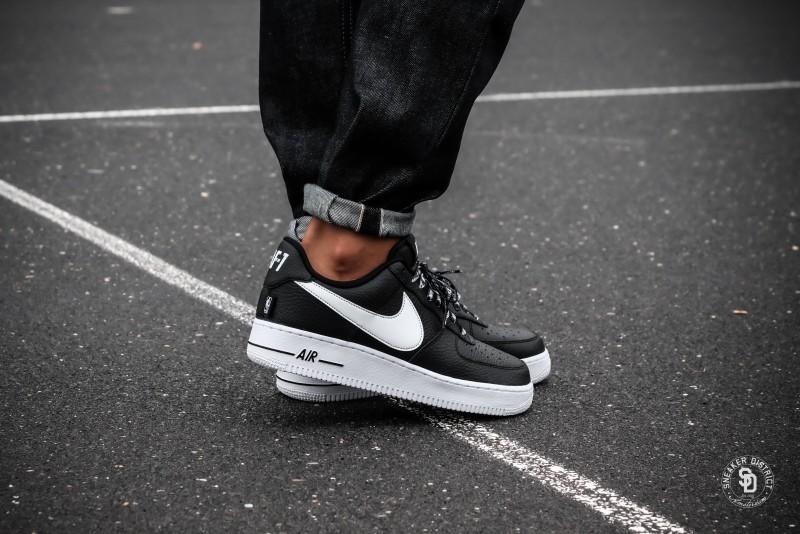 huge selection of 0cfa6 d7b6d Nike Air Force 1  07 LV8 NBA Pack Black White sneakers   Online sneaker  store   Sneaker District