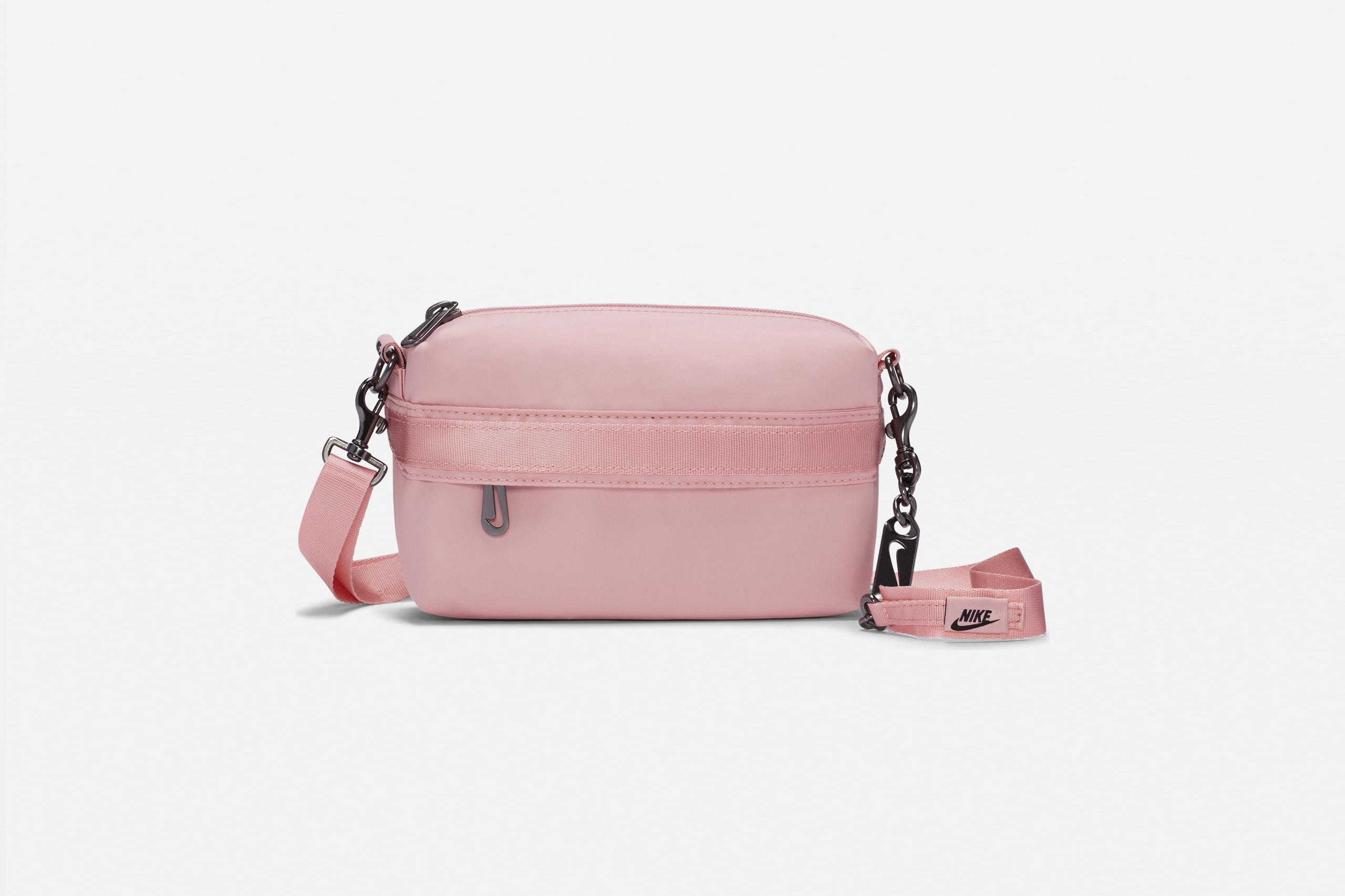 Nike Women's Futura Luxe Crossbody Pink Glaze/Black