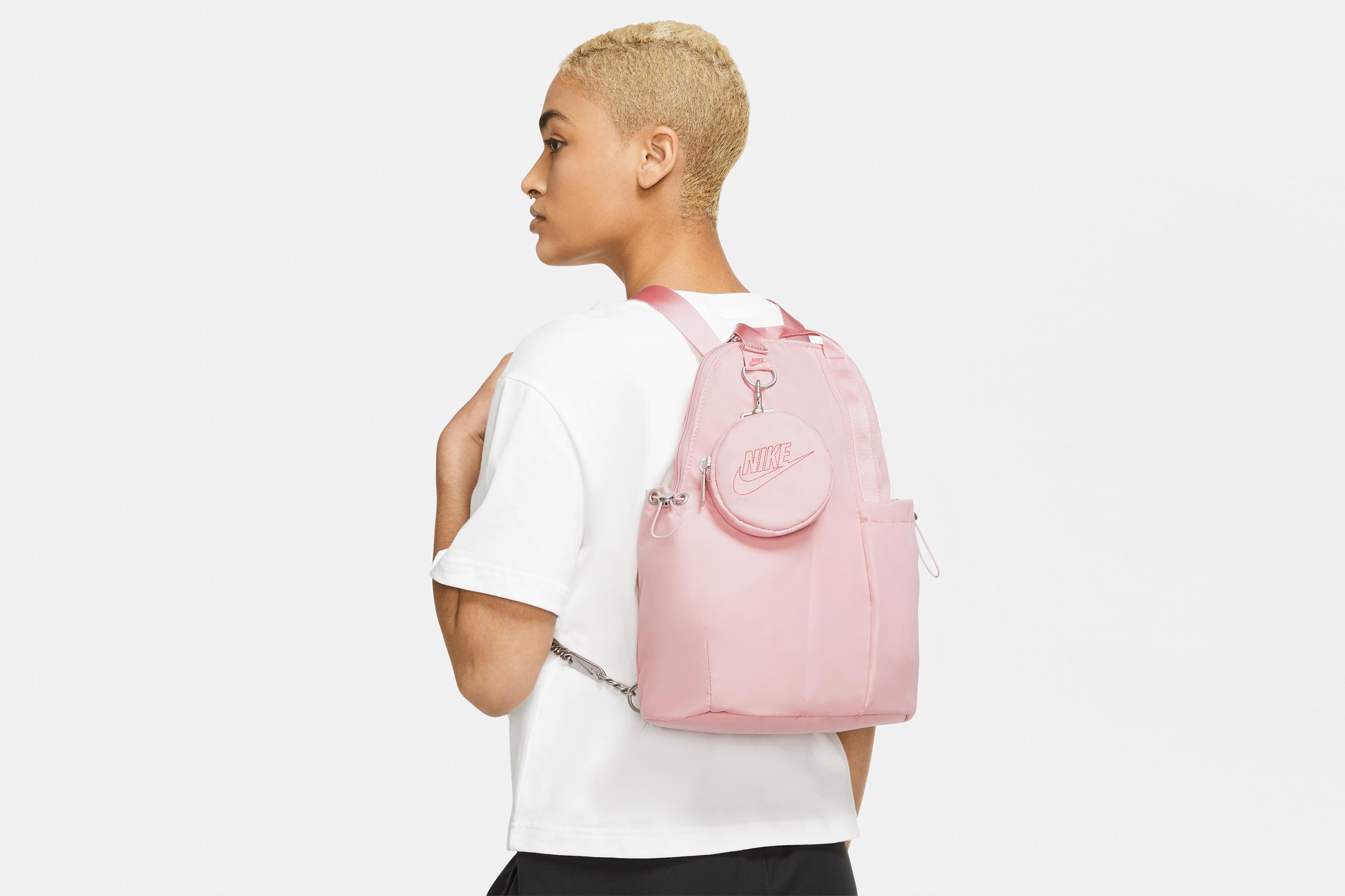 Nike Futura Luxe Mini Backpack Pink Glaze/Black