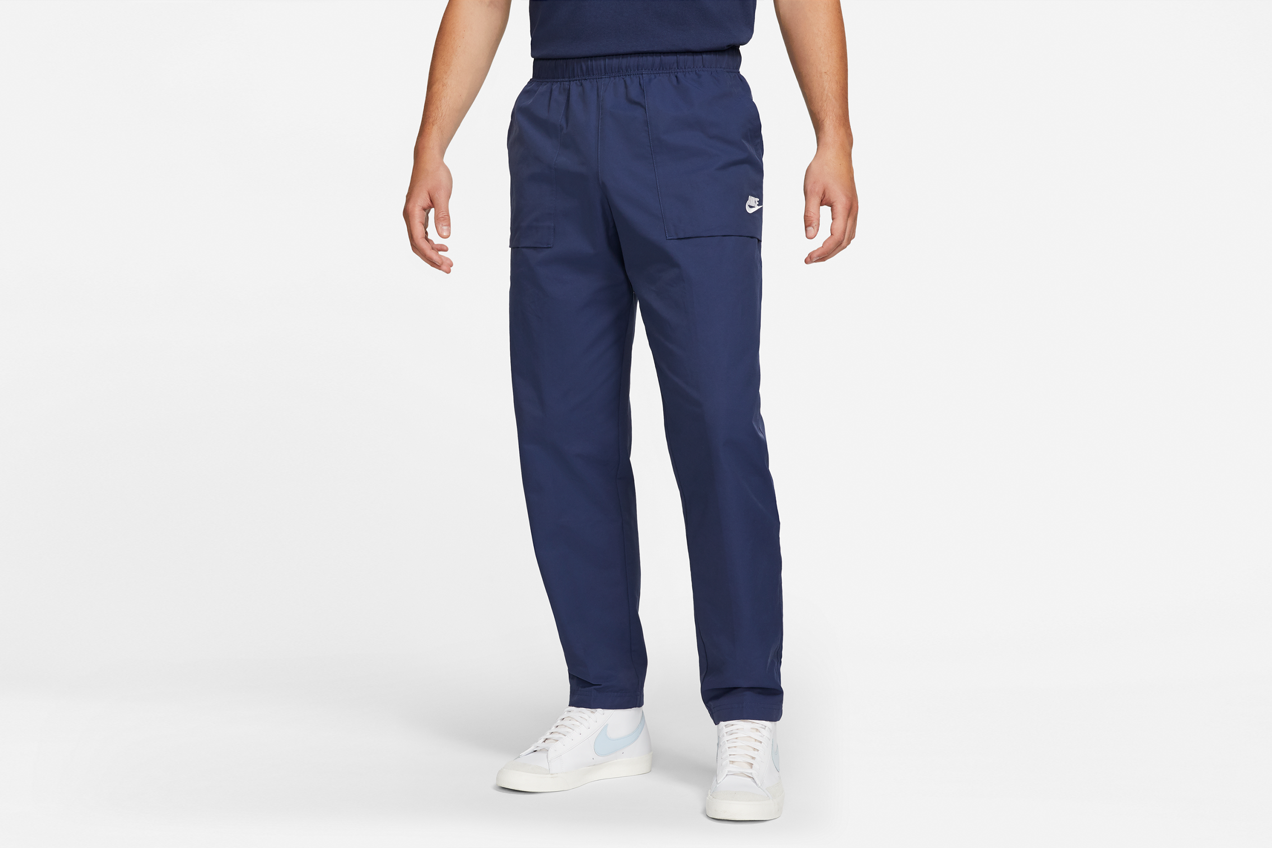 Nike NSW City Edition Woven Pants Midnight Navy/White
