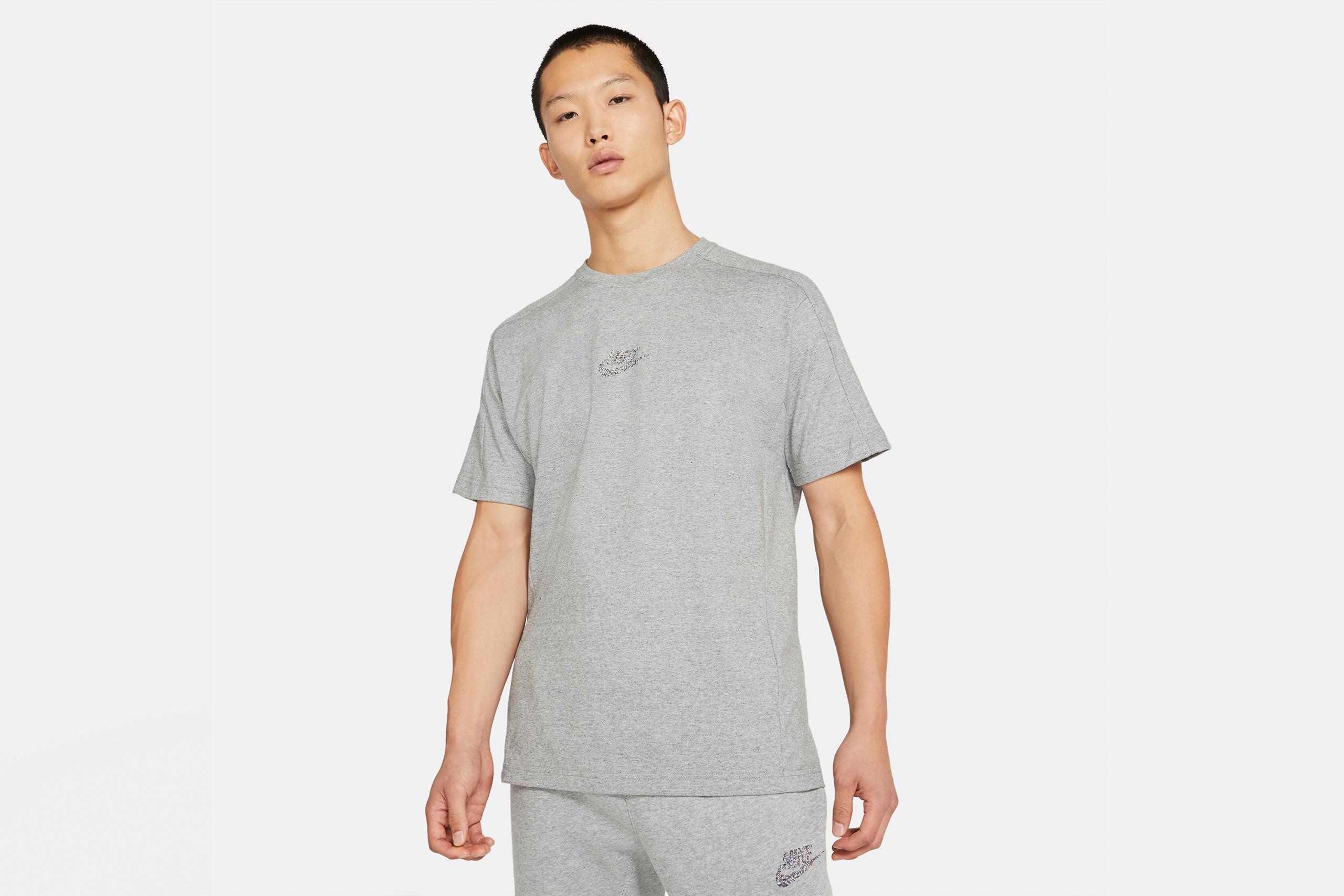 Nike Short Sleeve Jersey Top Revival Black/Heather