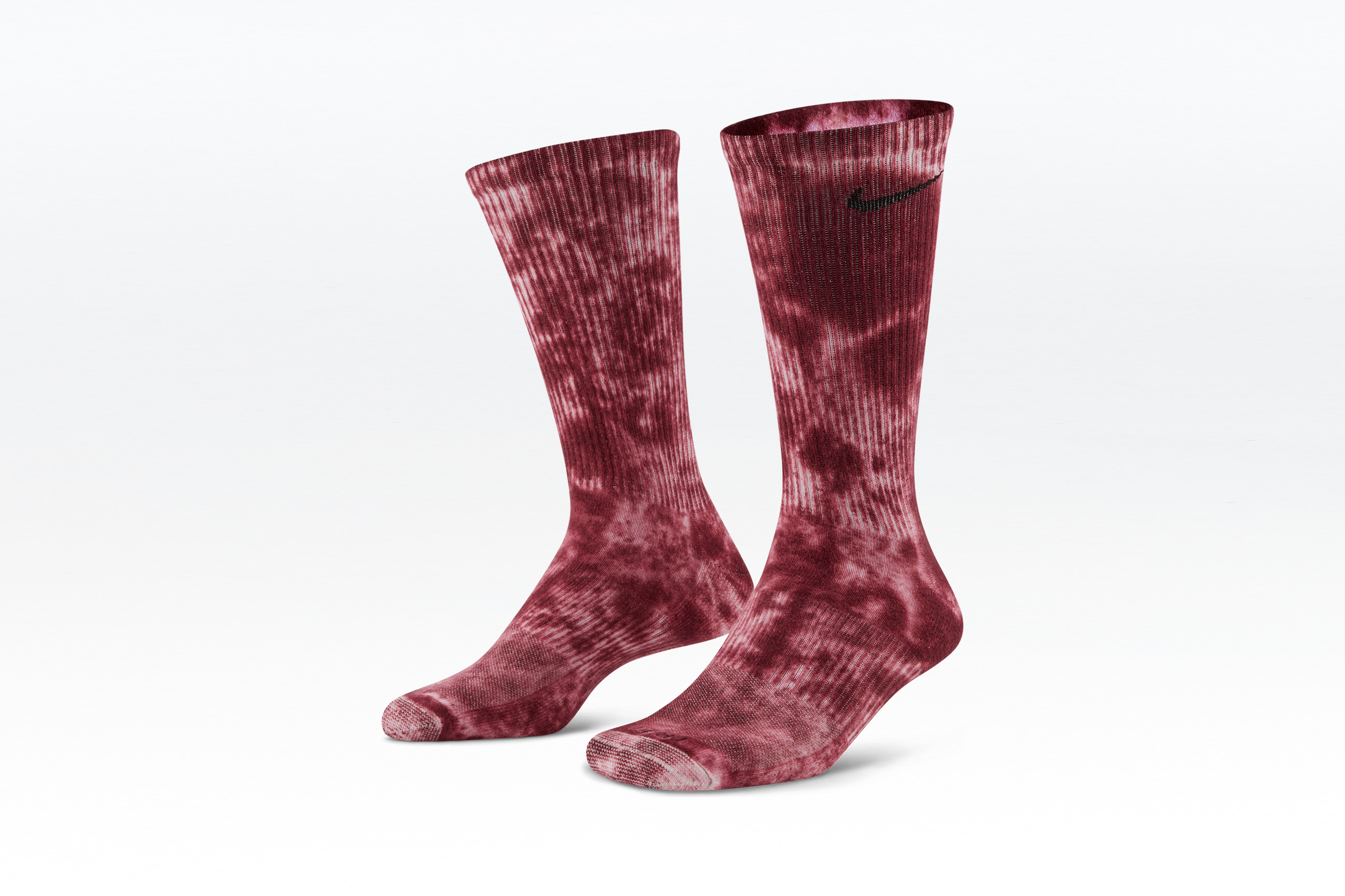 Nike Everyday Cushion Crew Socks Tie Dye Multicolor