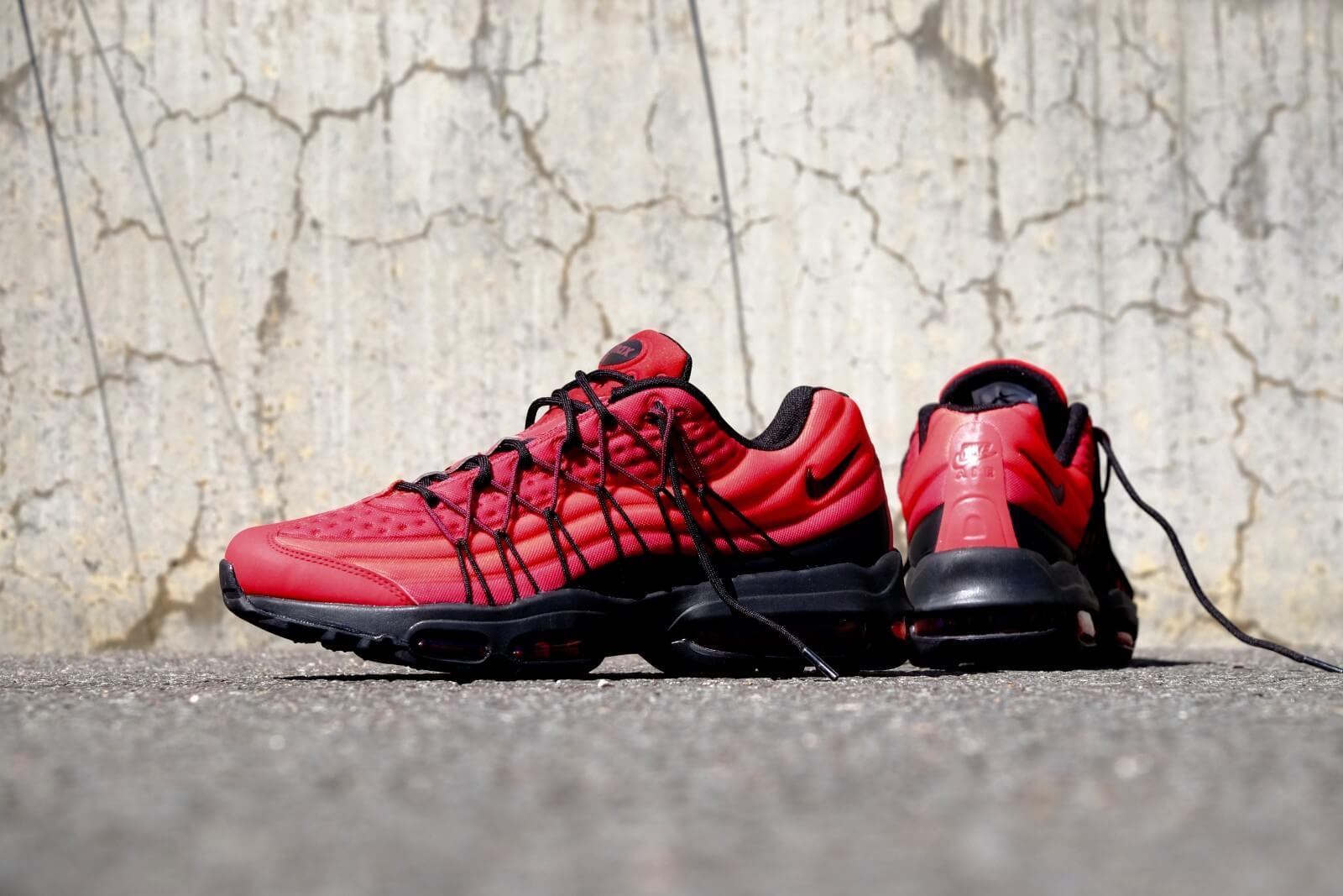 check out 3fba3 c7398 Nike Air Max 95 Ultra Se Gym Red leoncamier.co.uk