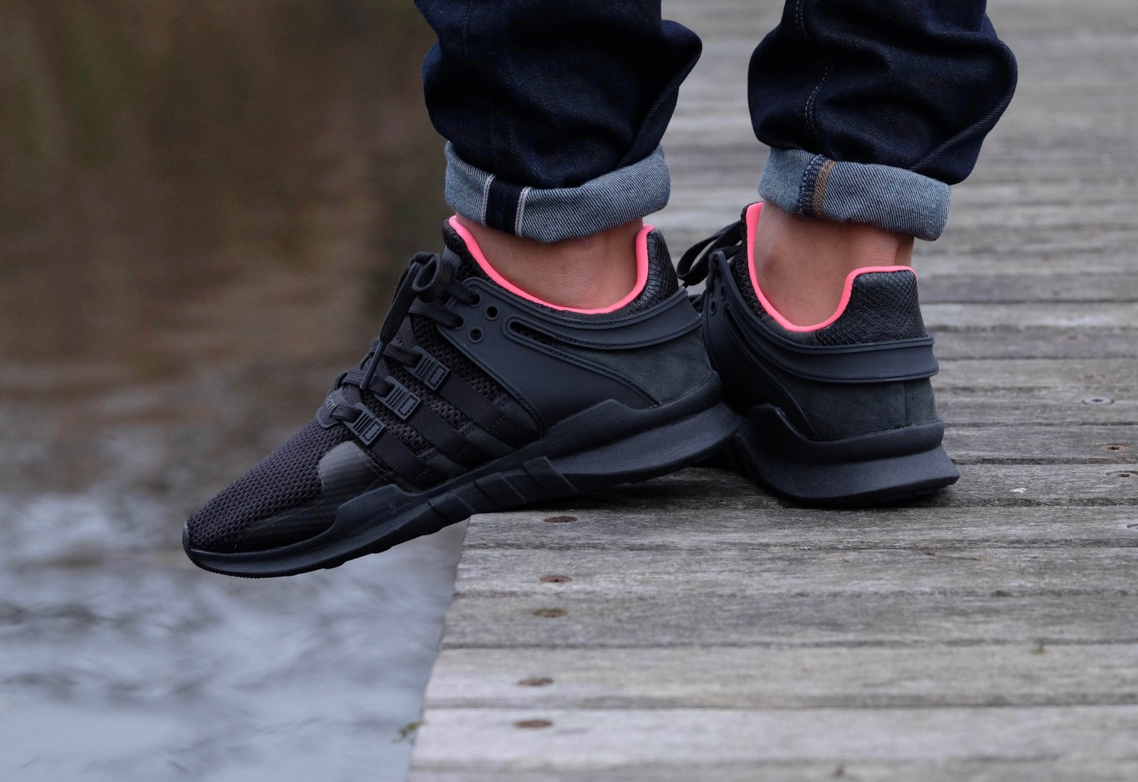 A Splash Of Pink On This adidas EQT Support ADV