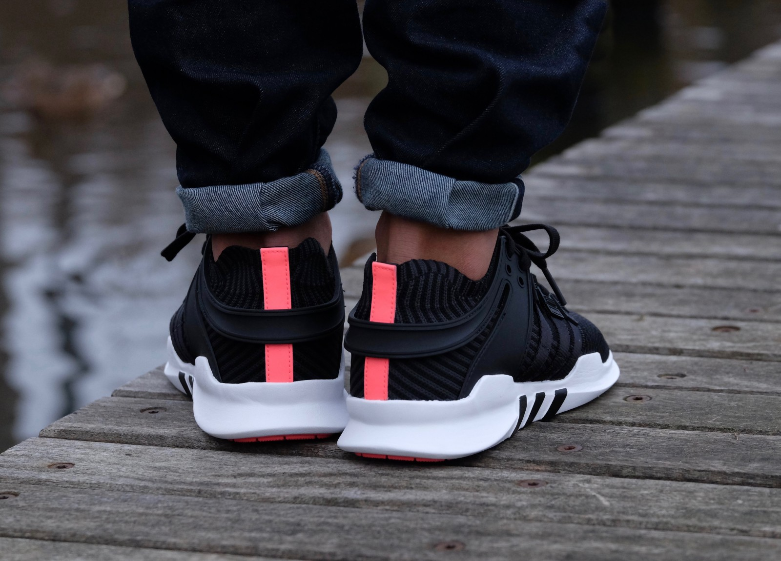 adidas Equipment Support ADV Primeknit Black Turbo Red Bb1260 9